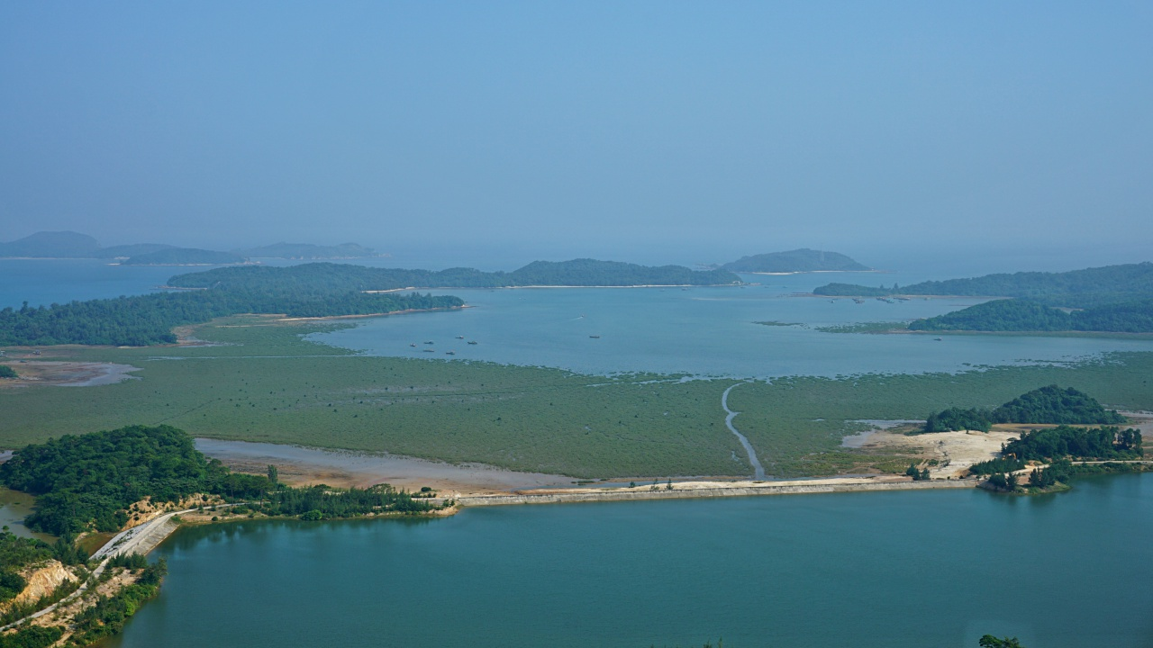 View from the Lighthouse, Co To Island, Vietnam