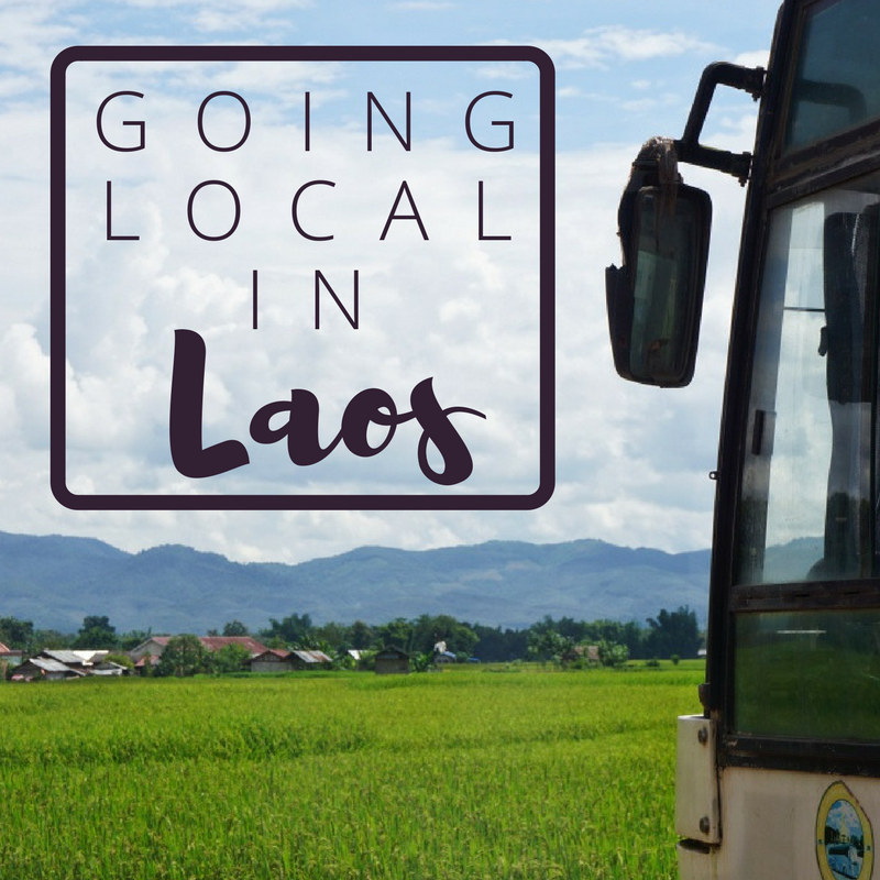 Keza's Hippie Place: Going Local in Laos. Part 1: Busses
