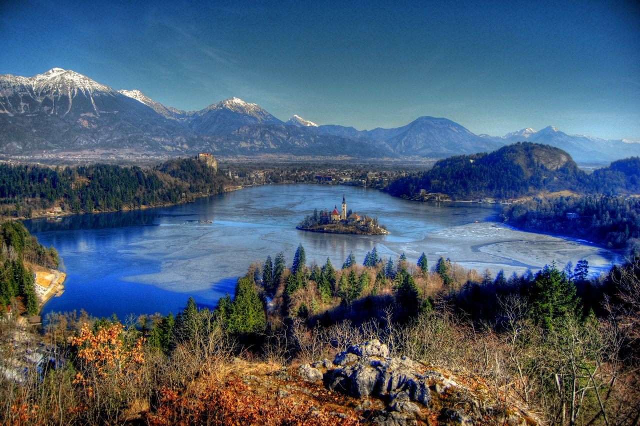 Bled, Ojstrica viewpoint, Slovenia