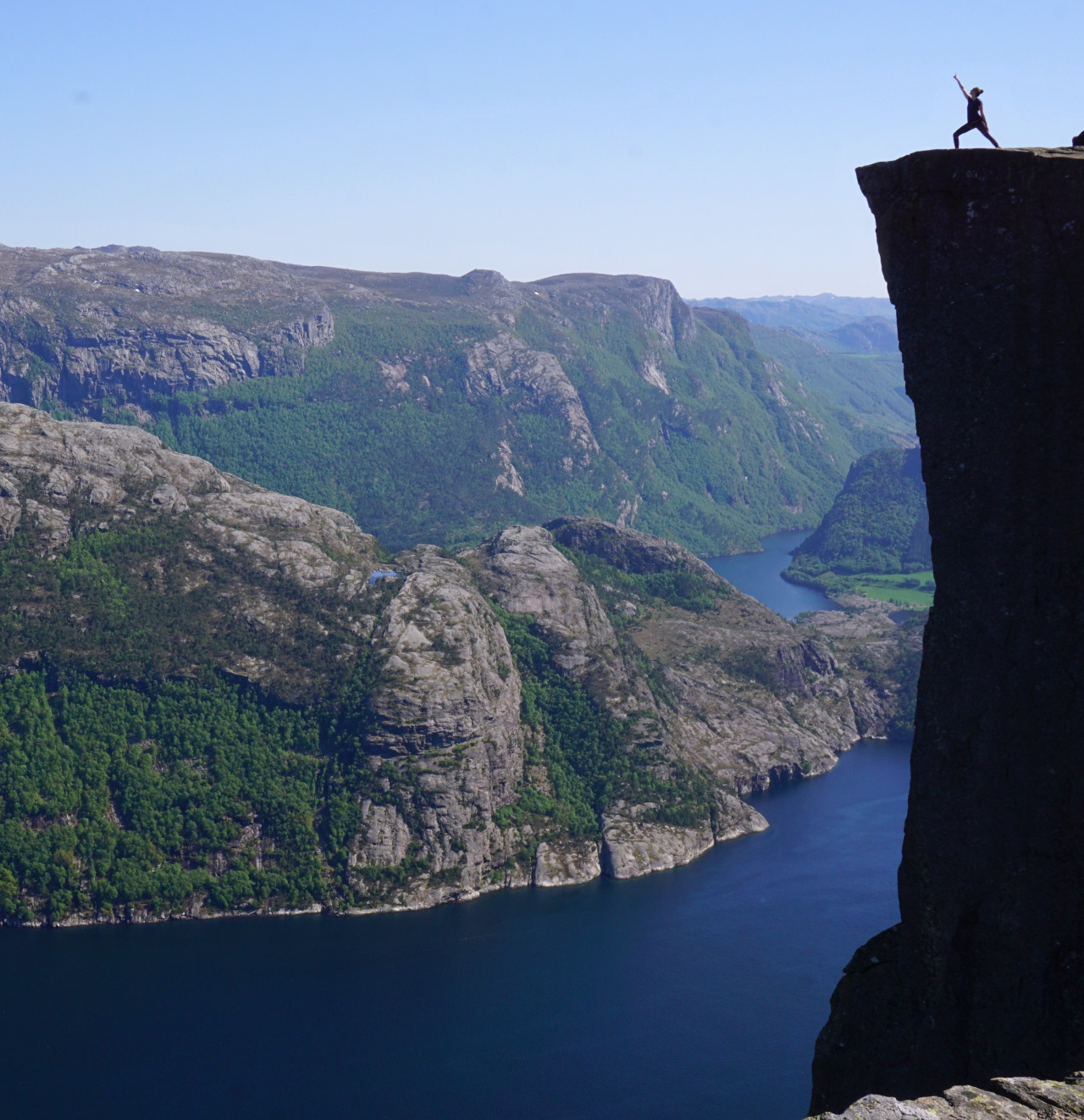 Preikestolen - on the top of the world