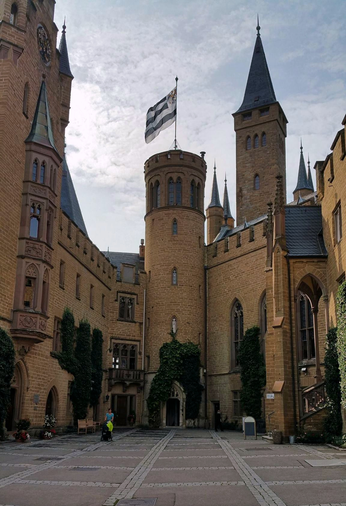 Castle Hohenzollern - Courtyard