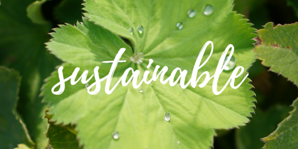 key concept #1: act sustainable