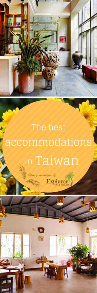 A selection of our tested accomodation in Taiwan